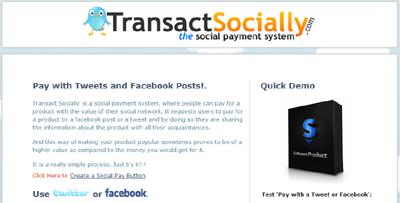 Transact socially