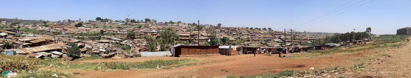 Slum panorama